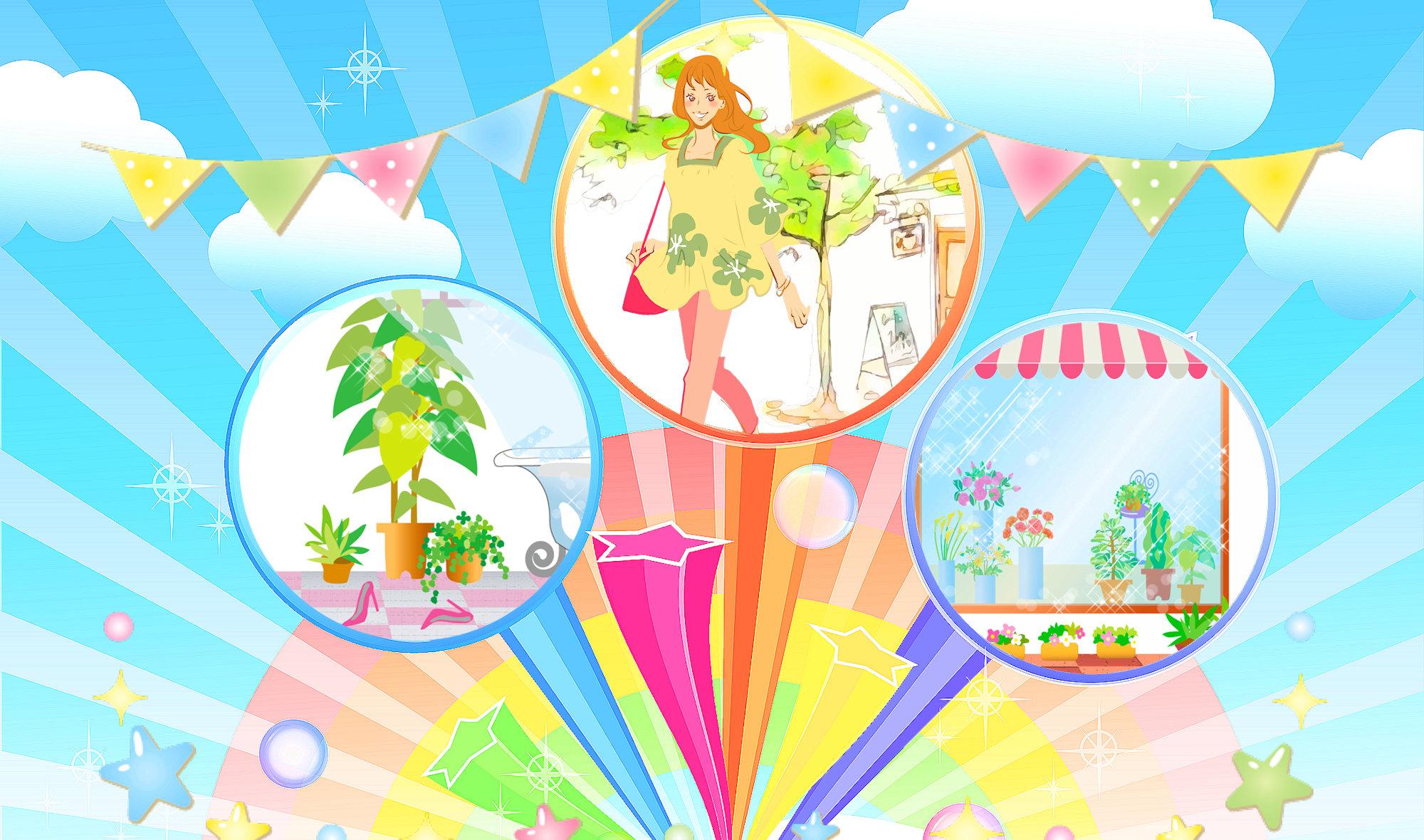 夢と魔法のハッピーマッピング